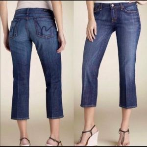 Citizens Of Humanity  Low Waist Cropped Jeans 26
